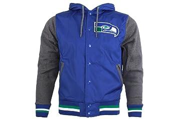 "eb30f047e0ce84 Seattle Seahawks Mitchell & Ness NFL ""Standings"" Vintage Premium  Jacket"
