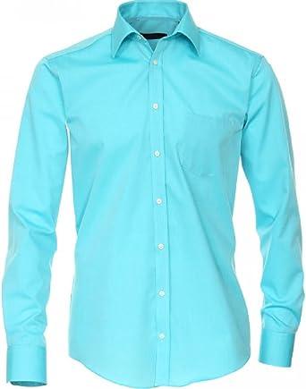 Unbekannt - Camisa - Básico - para niño Turquesa Turquesa 32: Amazon.es: Ropa y accesorios