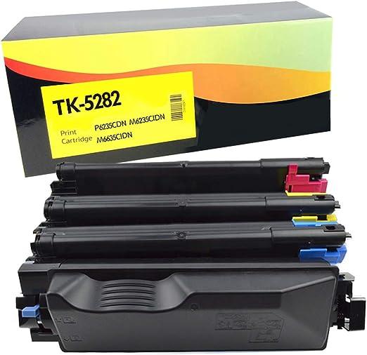 CNY Toner 5 Packs Compatible Kyocera Mita TK-562M Magenta Toner