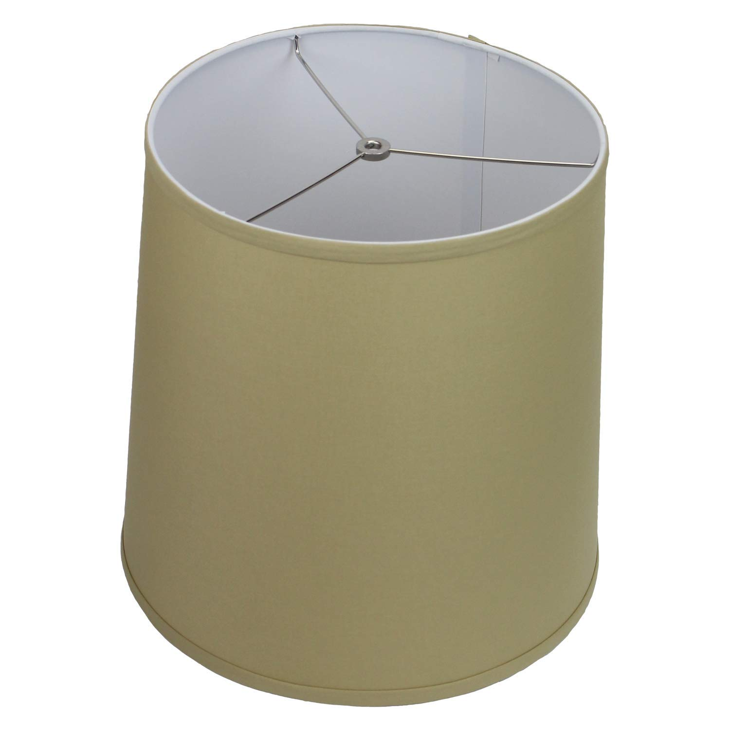 FenchelShades.com Lampshade 13'' Top Diameter x 15'' Bottom Diameter x 15'' Slant Height with Washer (Spider) Attachment for Lamps with a Harp (Straw)