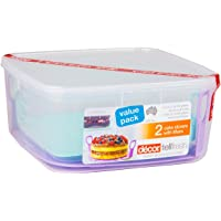 Décor Cake Storer Set with 6L Cake Box and 3.5L Cake Box