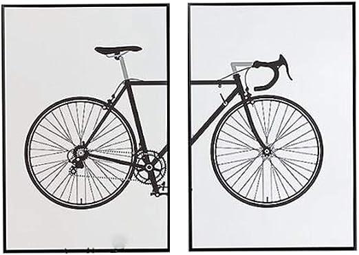 hll-036 Dibujos Animados Bicicleta Pintura Lienzo Arte de la Pared ...