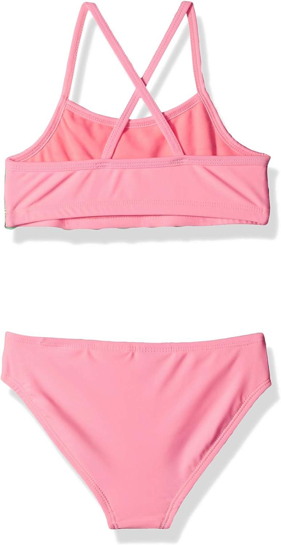 Angel Beach Little Girls Scallop Ruffle Bikini Swim Set