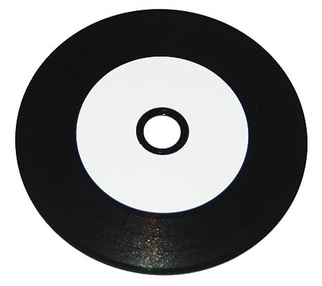 50 de Vinilo CD-R NMC printable Carbon anudado completamente ...