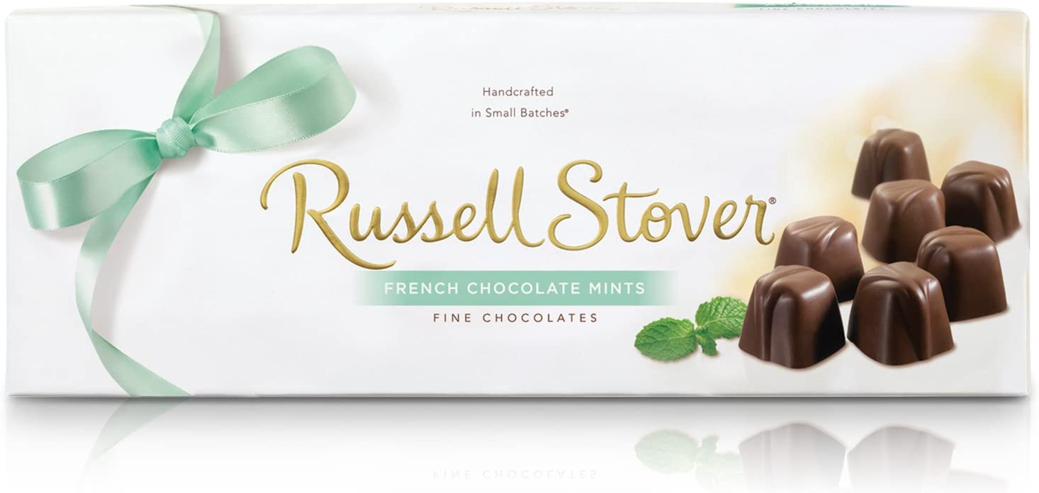 Russell Stover French Chocolate Mints Box, 10 Ounce: Amazon.es: Alimentación y bebidas