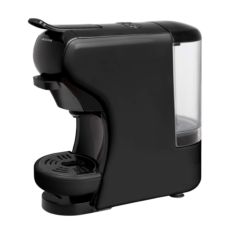 IKOHS Máquina de Café Espresso Italiano - Cafetera Multi Cápsulas Nespresso 3 en 1 Negro: Amazon.es: Hogar