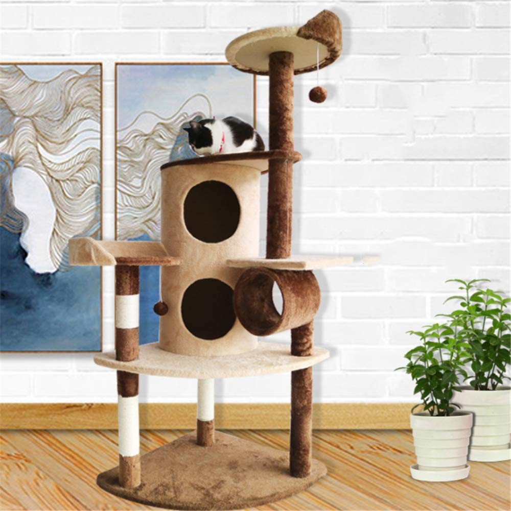 Daoxiang Multi-functional cat climbing frame, cat tree cat tower cat climbing frame, exquisite cat toy home