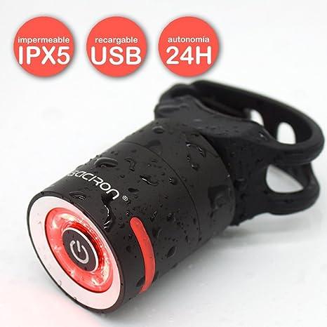 Gaciron W10 - Luz Trasera para Bicicleta Recargable USB ...