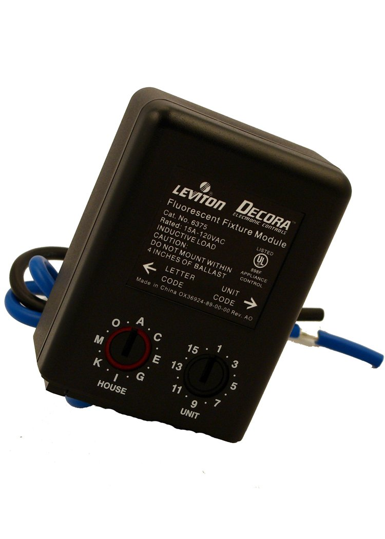 Leviton 6375 Fixture Relay Module - - Amazon.com
