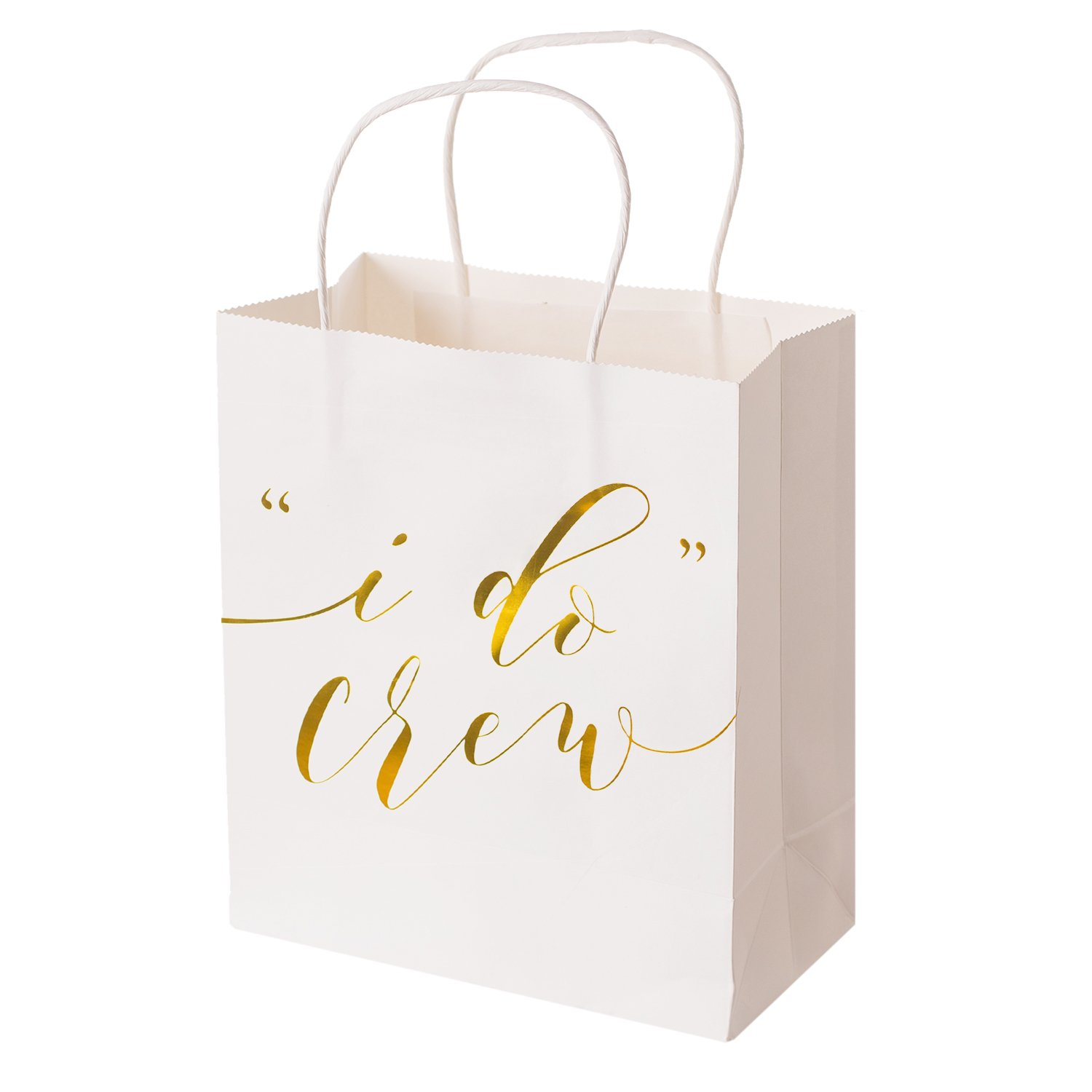 Amazon Lings Moment Wedding Party Gift Bags Set Of 12 Gold