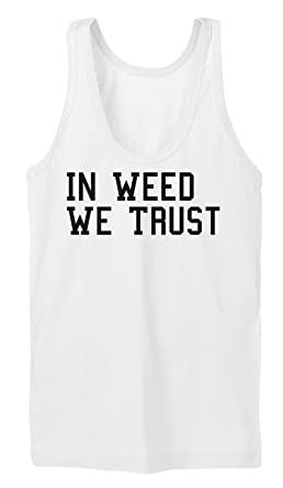 Certified Freak in Weed We Trust Tanktop Girls White S