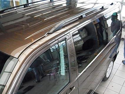 Rieles de techo de aluminio portaequipajes . VW T5 T6 CORTO 2003