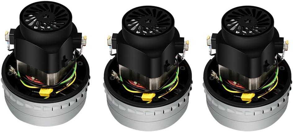 LOVIVER 3pcs 1500W Motor De Aspiradora Industrial Comercial Reemplazo Universal: Amazon.es: Hogar