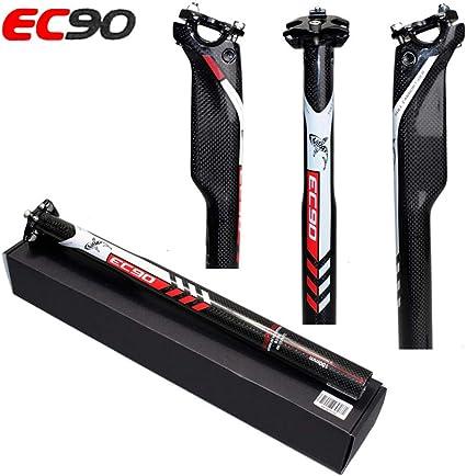 NEW Carbon Fiber Bicycle Seatpost MTB Road Bike Matte Seatpost 27.2//30.8//31.6mm