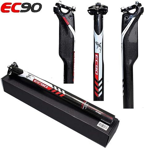Full Carbon Fiber Seatpost MTB Road Bicycle Seat Saddle Post 27.2//30.8//31.6mm