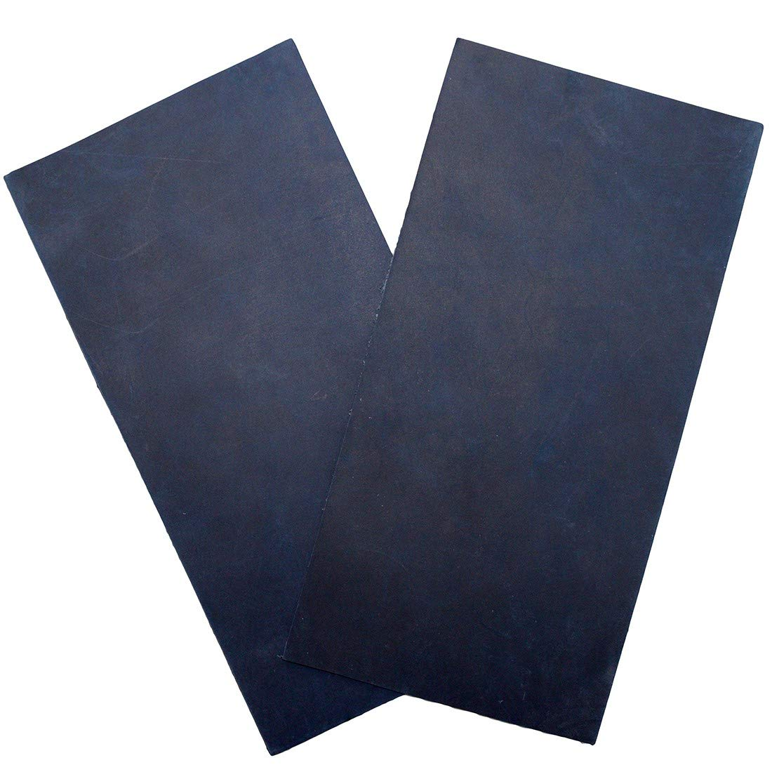 Thick Leather Rectangles 3-3.5mm Heavy Weight 2 Piece Set for Crafts//Tooling//Hobby Workshop Hide /& Drink 6 x 12 in. :: Slate Blue