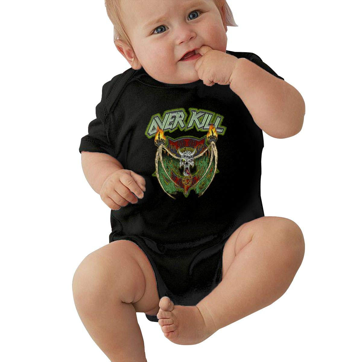 Joseph E Hinton Overkill Unisex Cute Infant Bodysuit Baby Romper Shirt for 0-24 Months