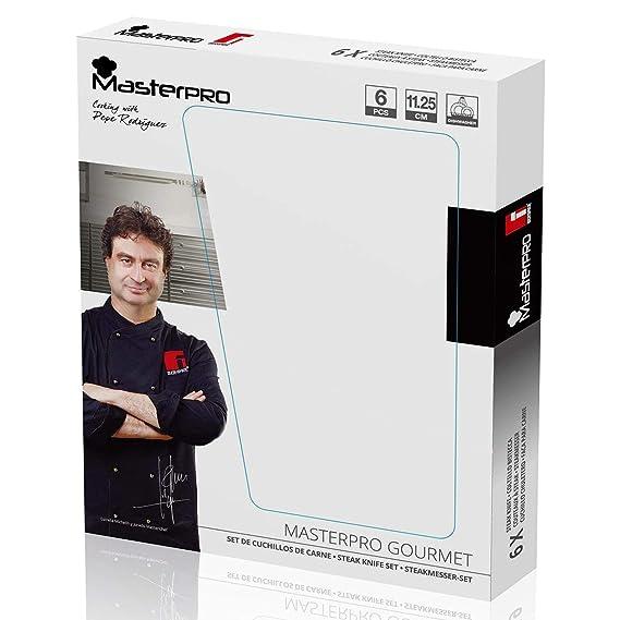 Amazon.com: Bergner Home MasterPro Gourmet Matching Steak ...