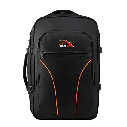 6b363882c Cabin Max® Lightweight Tallinn Cabin Bag 56x45x25 - Flight Approved Cabin  Luggage - Ideal size for EasyJet, Jet2 and British Airways Flights!: