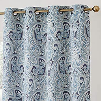 Amazon Com Nicole Miller Pair Of Window Curtains Panels