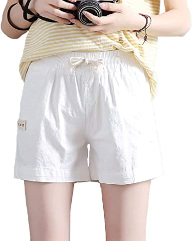Short en Lin pour Short Femmes Lin pour en Femmes Vêtements