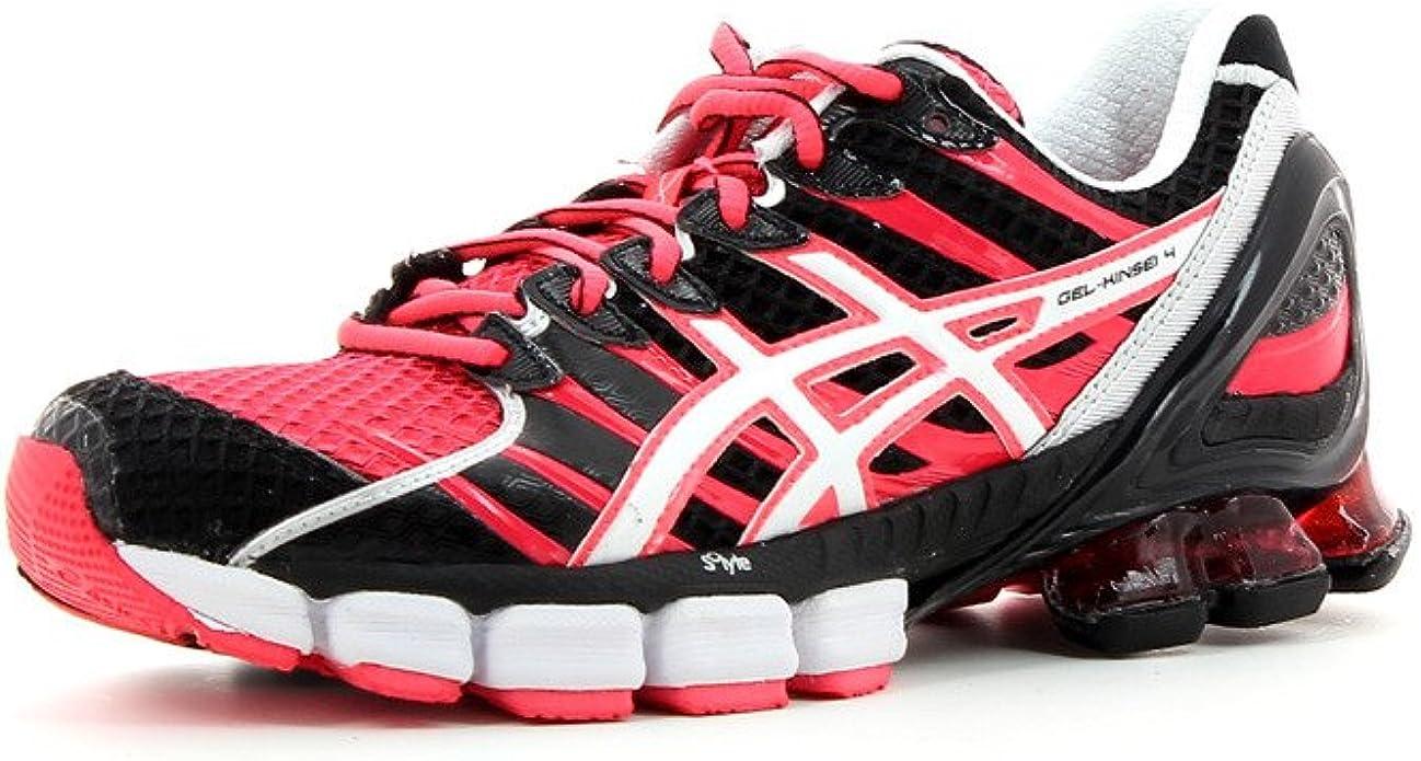 ASICS Gel-Kinsei 4 Zapatilla de Running Señora, Rosa/Negro, 38: Amazon.es: Zapatos y complementos