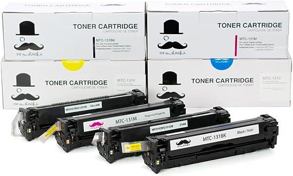New Compatible Toner Cartridge For Canon 131BK CMY imageCLASS MF8280Cw