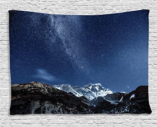 Ambesonne Tapestry Himalaya Mountain Northern