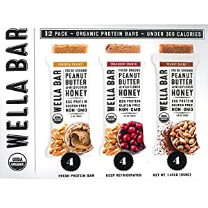 Organic Food Bar Protein Pure And Powerful