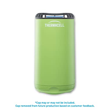 Thermacell Patio Shield Mosquito Repeller, Greenery Green; Easy to Use, Highly Effective; Provides 12 Hours of DEET-Free Mosquito Repellent; Scent-Free, No Spray, No Smoke and Cordless