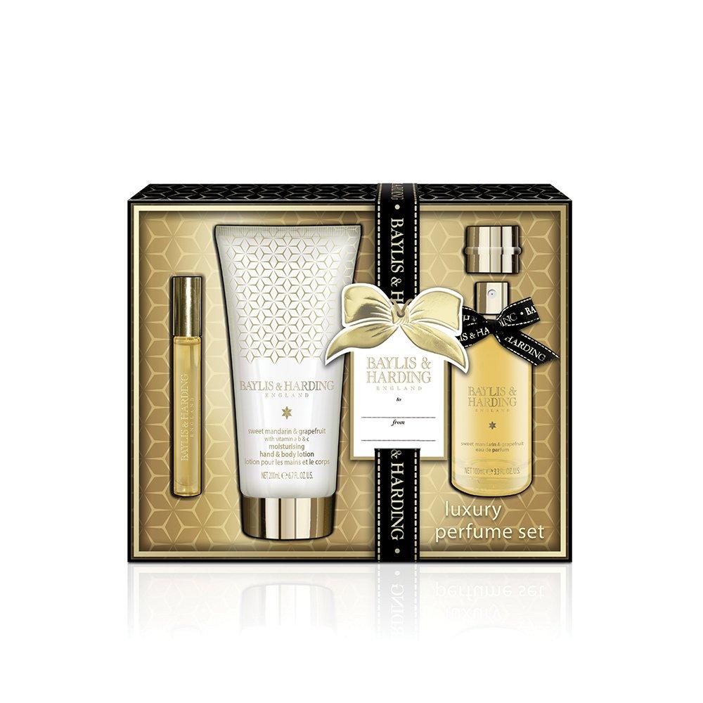 Baylis & Harding Sweet Mandarin and Grapefruit Luxury Perfume Gift Set BM18MGPERFUME