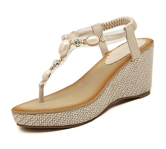 Sandali eleganti beige per donna Minetom gSPXyjjl