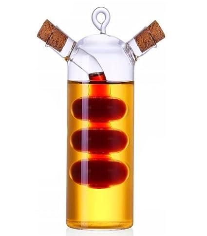 niboline 2 in1 & aceite o vinagre con corcho Vinagre y Aceite Botella diseño de especias