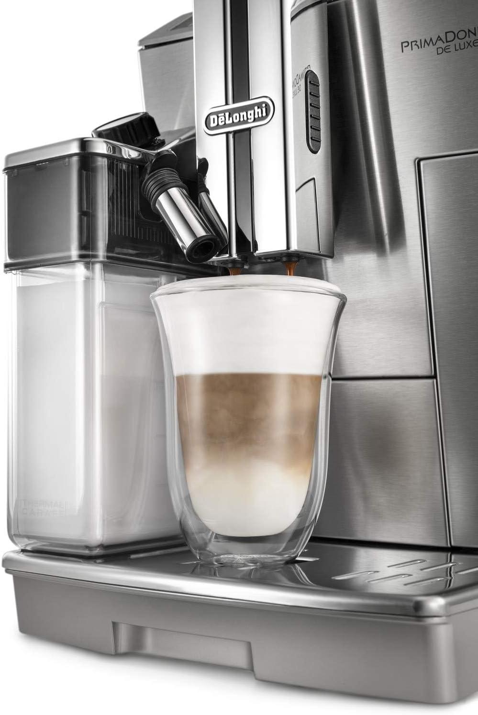 DeLonghi Juego de 2 vasos premium para café latte macchiato, apto ...