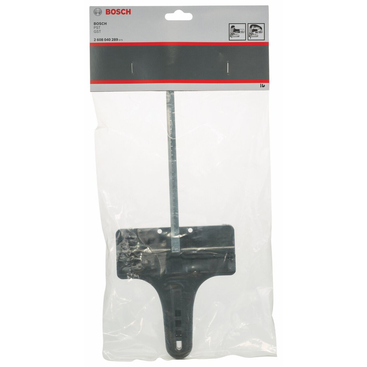 Silver//Black Bosch Professional 2608040289 Parallel Guide