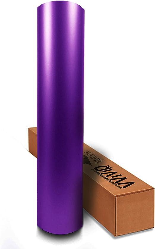 VVIVID8 copper chrome satin matte car wrap vinyl 1ft x5ft conform stretch 3MIL