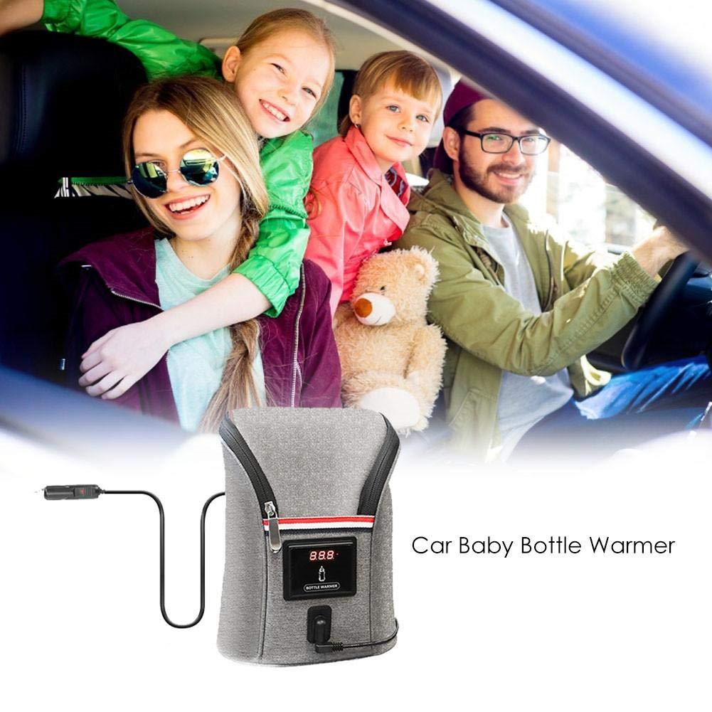 belukies Flaschenw/ärmer Baby Unterwegs Babykostw/ärmer Mit Warmhaltefunktion LED-Display F/ür Babyflaschen Schnell Doppel Flaschen Heizung Kapazit/ät:2 Flasches