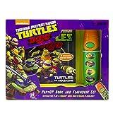 ninja turtles book set - Teenage Mutant Ninja Turtles Little Flashlight Adventure Book 9781450874397