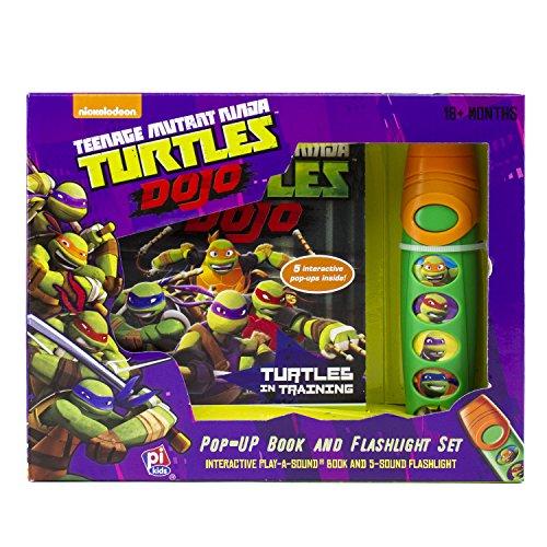 Nickelodeon - Teenage Mutant Ninja Turtles Little Flashlight Adventure Book - PI Kids