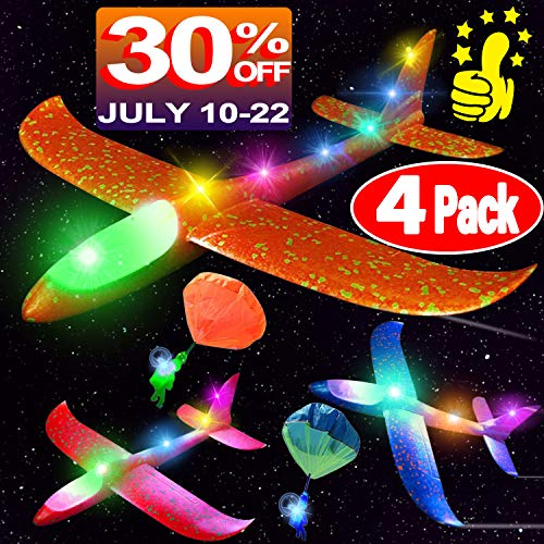 Light Up AirplaneToy,15.7