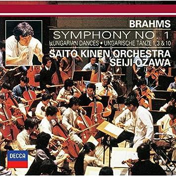 ブラームス: 交響曲第1番、ハンガリー舞曲第1番・第3番・第10番(生産限定盤)(UHQCD)