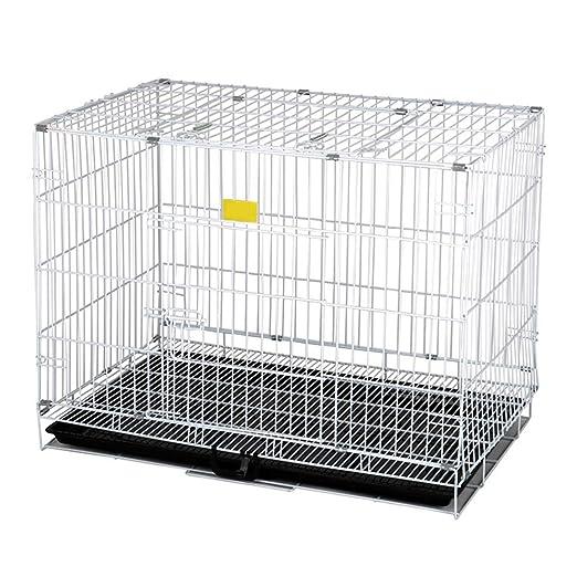 CHEN. Jaula para Mascotas: Jaula para Perros Plegable para ...