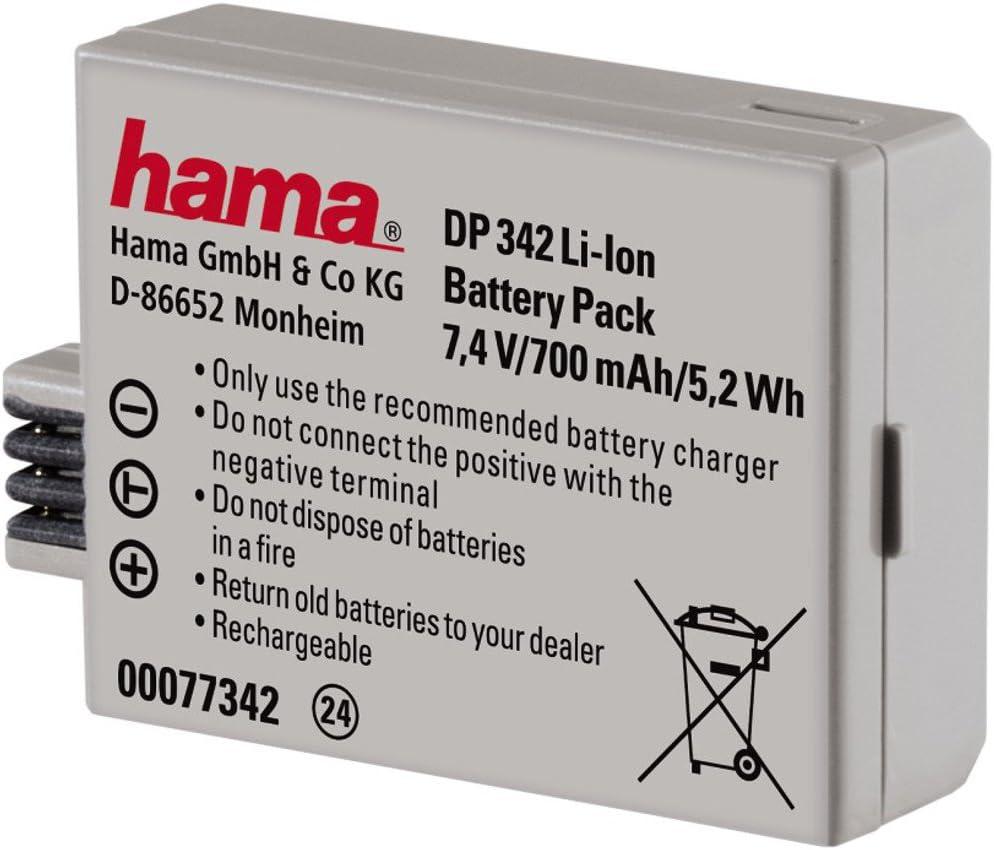 Hama Li Ion Akku Dp 342 Baugleich Canon Lp E5 Kamera