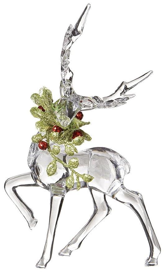 Kissing Krystals Christmas Acrylic Reindeer