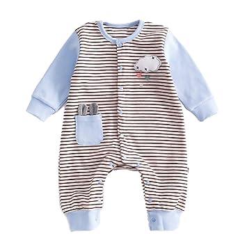 a16b057b5219e i-dem ベビー ロンパース カバーオール 長袖 春夏用 新生児 男の子 女の子 コットン 着せ脱がせ