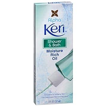 Alpha Keri Shower And Bath Moisture Rich Oil 8 Oz Pack Of 3