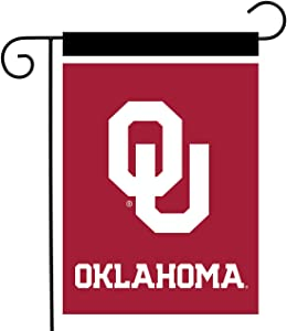 "Briarwood Lane Oklahoma Sooners Garden Flag NCAA Licensed 12.5"" x 18"""