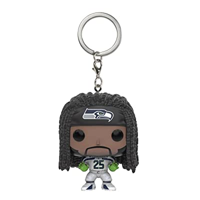 Funko POP Keychain: NFL - Richard Sherman Action Figure: Toys & Games