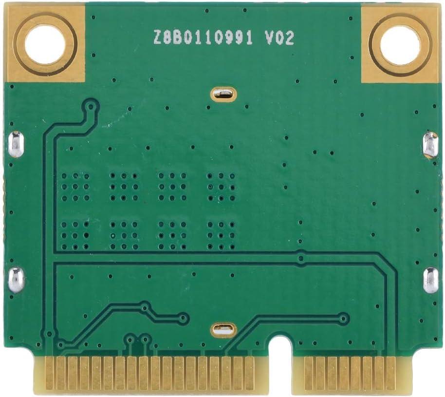 Dual Band 2.4G//5Ghz Network Card 433Mbps WiFi Mini PCI-E Wireless Card Dual Band Wireless PCI Express Adapter Bracon PCIE Card