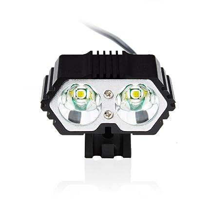 Waterproof 6000LM Bicycle Light Headlamp Bright Bike Lamp Headlight